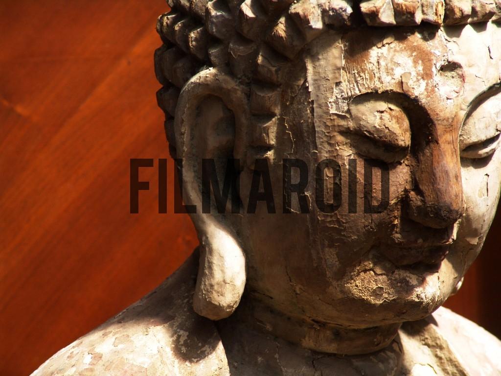Wooden Buddha found in flea market in Paris