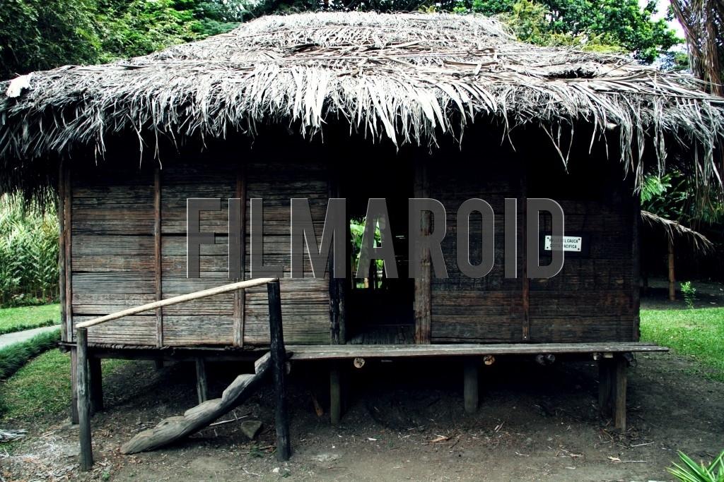 A replica of a typical home from a village in the Pacific Coast of Colombia found at Hacienda Piedechinche Valle del Cauca