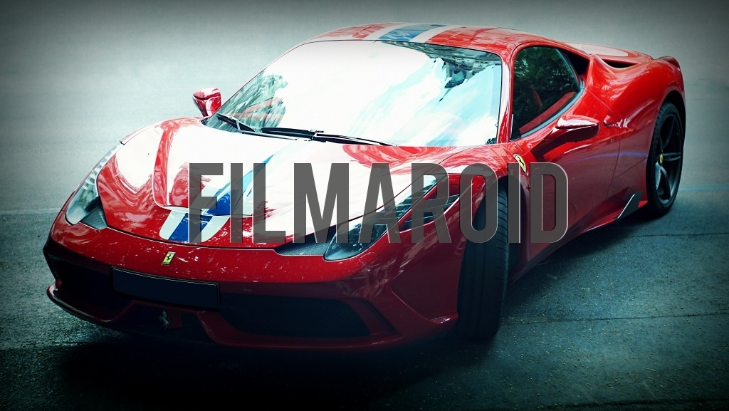 The majestic Ferrari 458 Speciale A 2014 set against street background