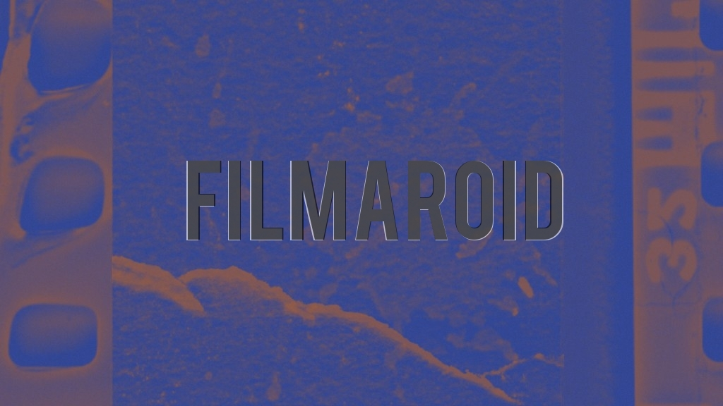A grunge background portraying a burnt film strip
