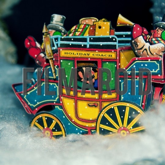 Christmas holiday stage coach - A collection of stock photos covering different Holidays