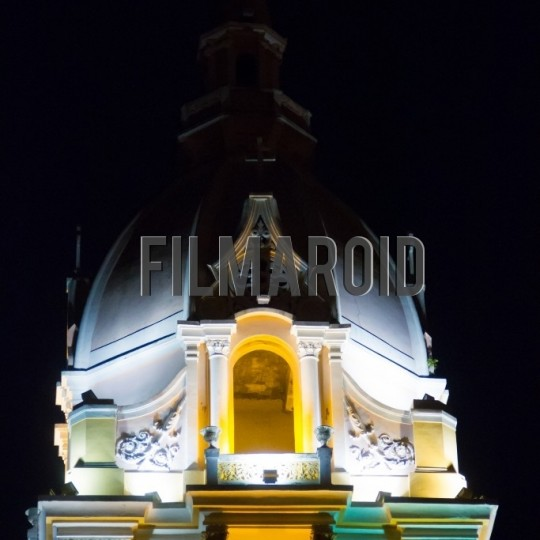 Bell tower cathedral cartagena - A collection of stock photos about Travel