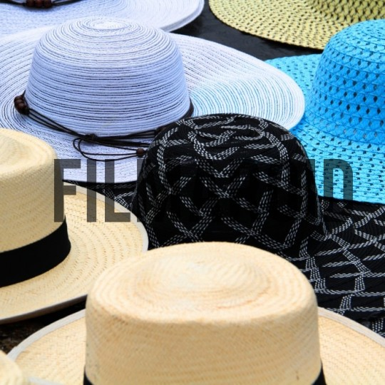 Colorful hats cartagena - A collection of stock photos about Travel