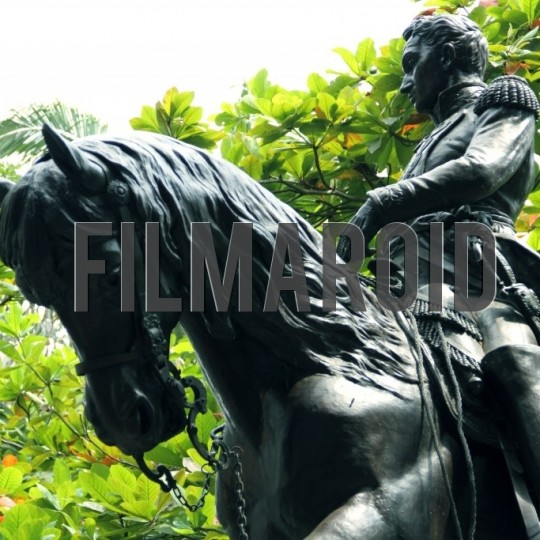 Simon bolivar statue cartagena colombia - A collection of stock photos about Travel